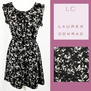 Lauren Conrad Pretty Bird Fit & Flare Dress 12
